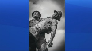 Local author launches book of images showcasing the haunting legacy of war